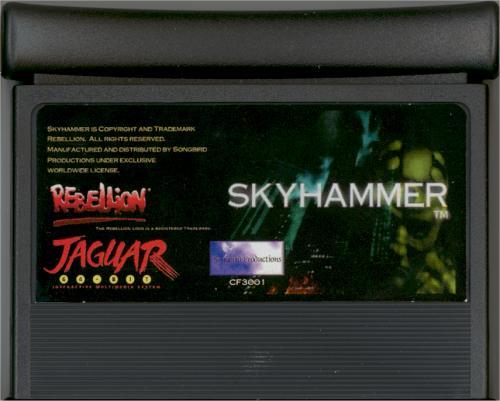 Skyhammer - Cartridge Scan