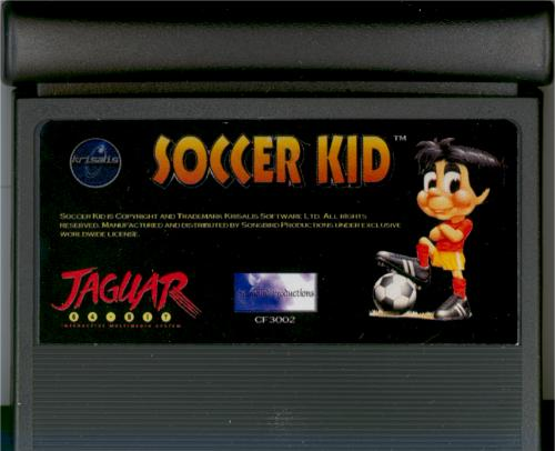 Soccer Kid - Cartridge Scan