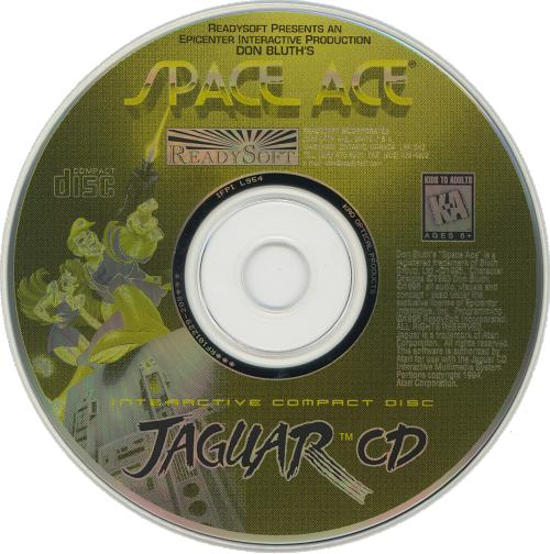 Space Ace - Cartridge Scan