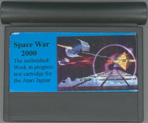 Space War 2000 - Cartridge Scan