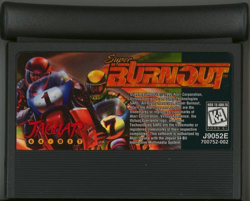 Super Burnout - Cartridge Scan