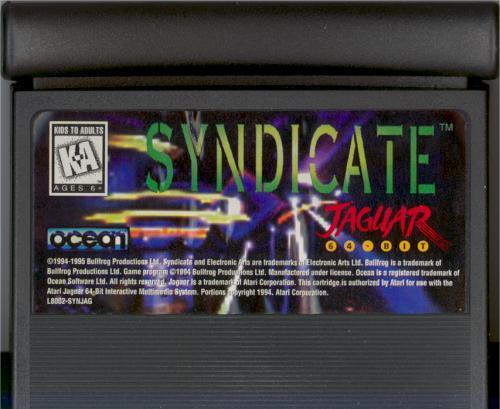 Syndicate - Cartridge Scan