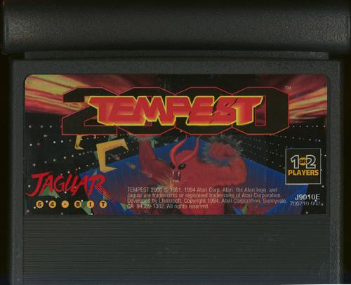 Tempest 2000 - Cartridge Scan
