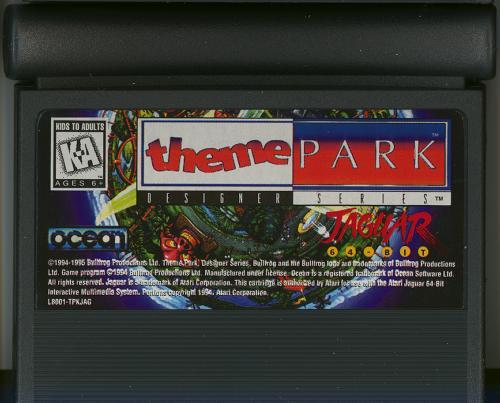 Theme Park - Cartridge Scan