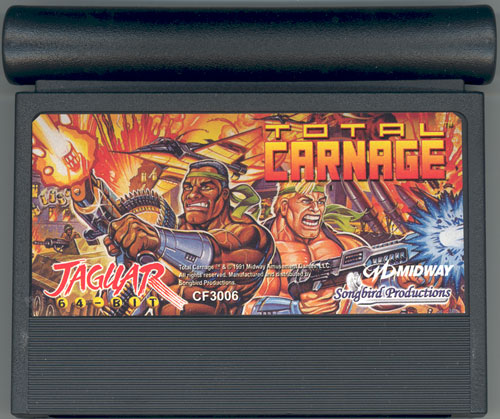 Total Carnage - Cartridge Scan