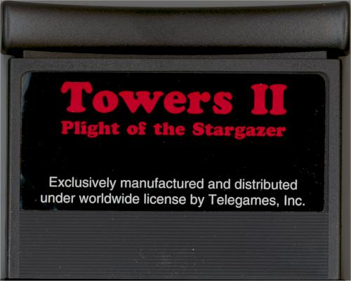 Towers II - Cartridge Scan