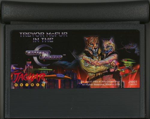 Trevor McFur in the Crescent Galaxy - Cartridge Scan