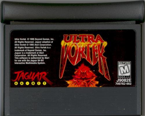 Ultra Vortek - Cartridge Scan