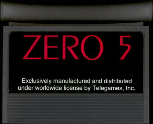 Zero 5 - Cartridge Scan