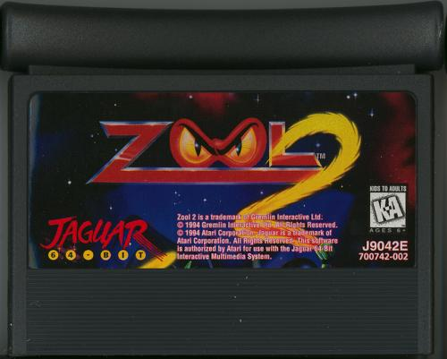 Zool 2 - Cartridge Scan