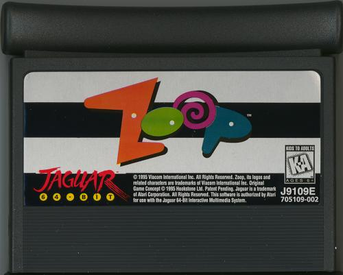 Zoop! - Cartridge Scan