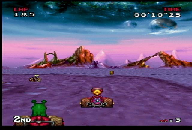 Atari Karts - Screenshot