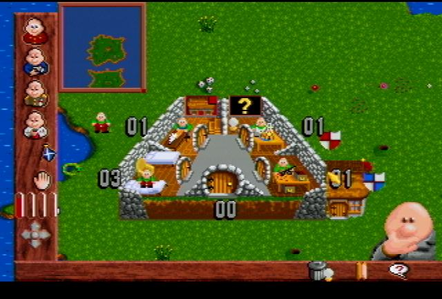 Baldies - Screenshot