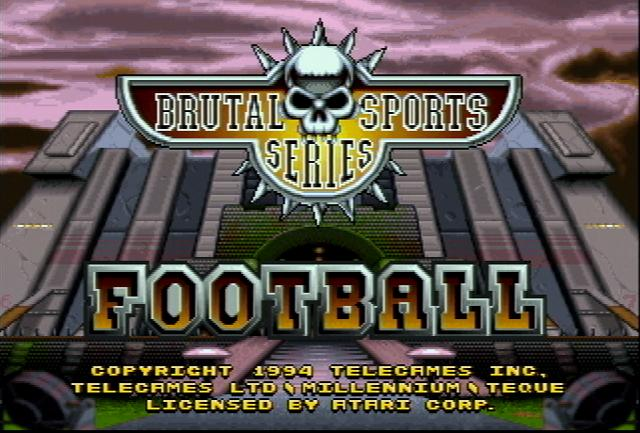 Brutal Sports Football - Screenshot