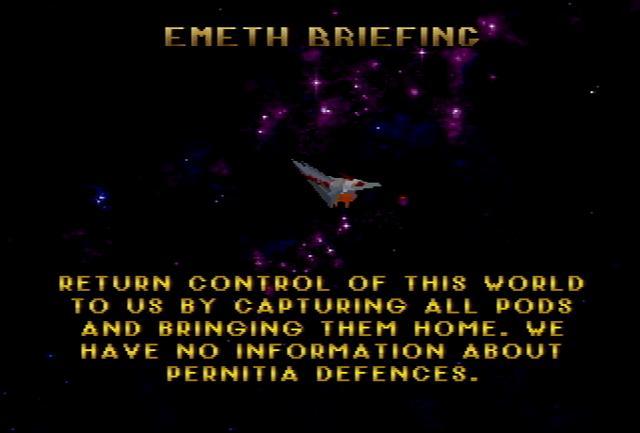 Cybermorph (2 Meg) - Screenshot