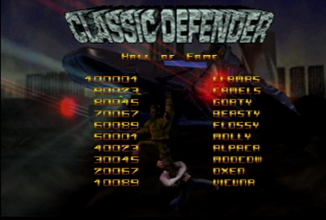 Defender 2000 - Screenshot
