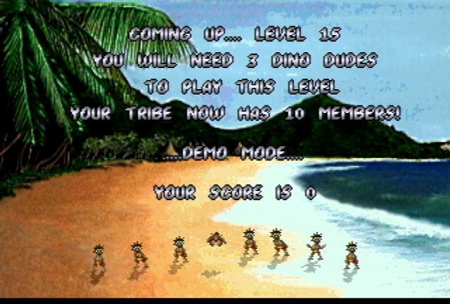 Evolution: Dino Dudes - Screenshot
