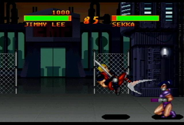 Double Dragon V - Screenshot