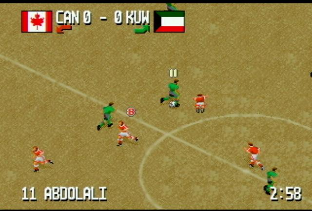 Fever Pitch Soccer - Screenshot