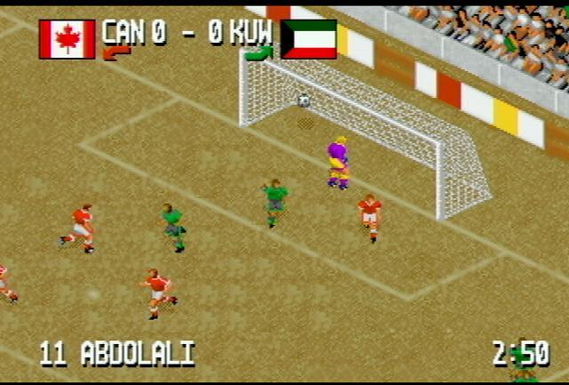 Fever Pitch Soccer - Screenshot