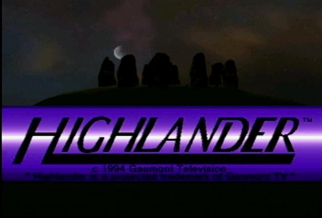 Highlander - Screenshot