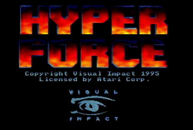 Hyper Force - Screenshot