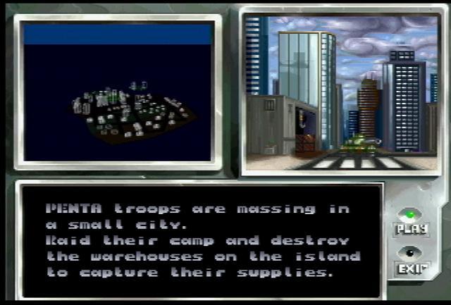 Iron Soldier II - Screenshot