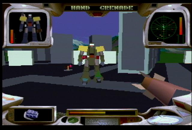 Iron Soldier - Screenshot