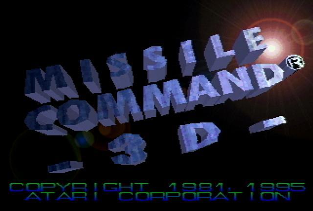 Missile Command 3D - Screenshot
