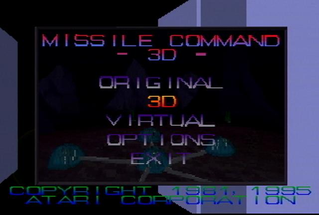 Missile Command 3D - Screenshot