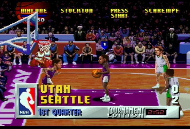 NBA Jam: Tournament Edition - Screenshot