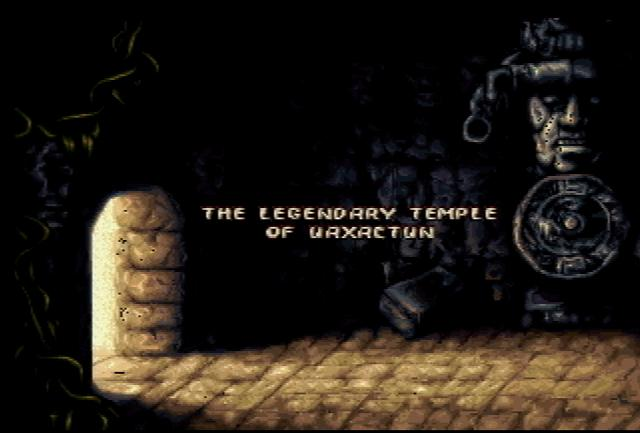 Pitfall: The Mayan Adventure - Screenshot