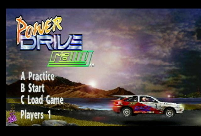 Power Drive Rally - Screenshot