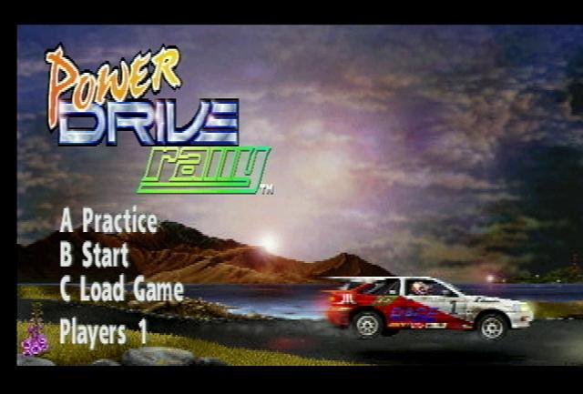 Power Drive Rally - Screenshot