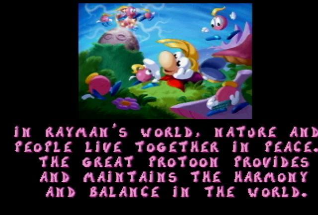 Rayman - Screenshot