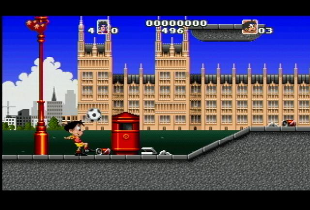 Soccer Kid - Screenshot