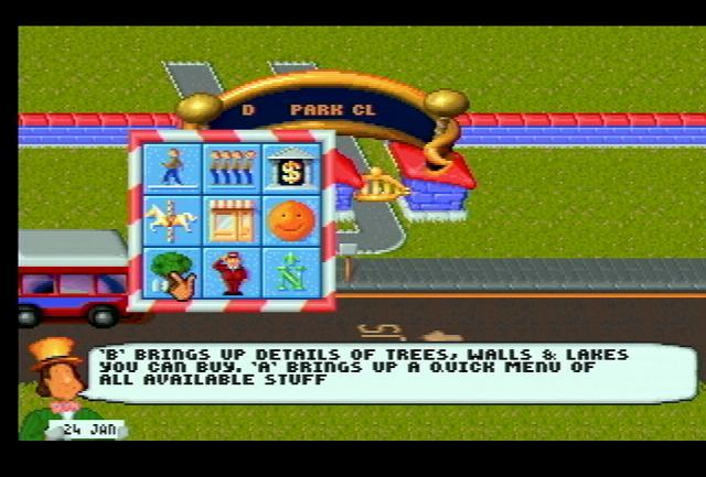 Theme Park - Screenshot