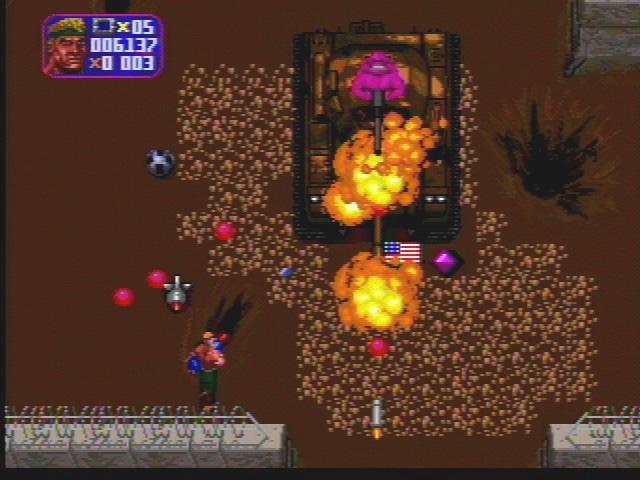 Total Carnage - Screenshot