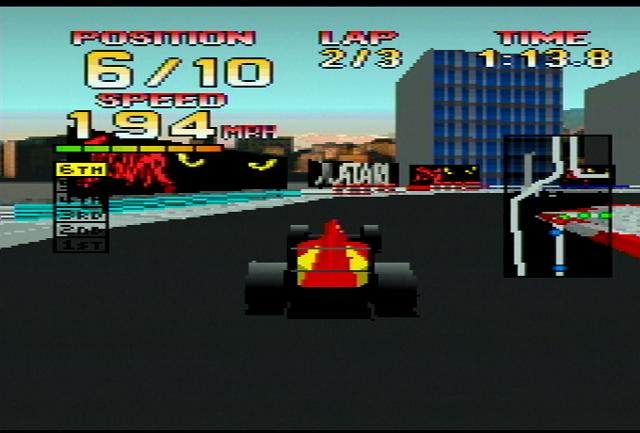 World Tour Racing - Screenshot