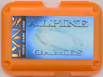 Alpine Games - Box Front