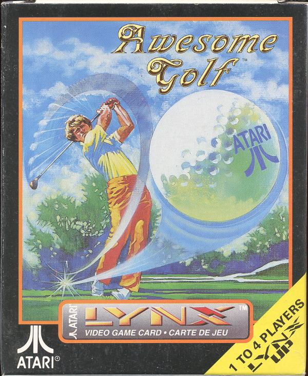 Awesome Golf - Box Front