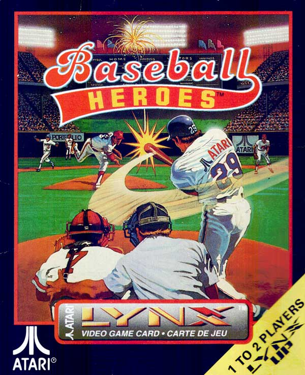 Baseball Heroes - Box Front