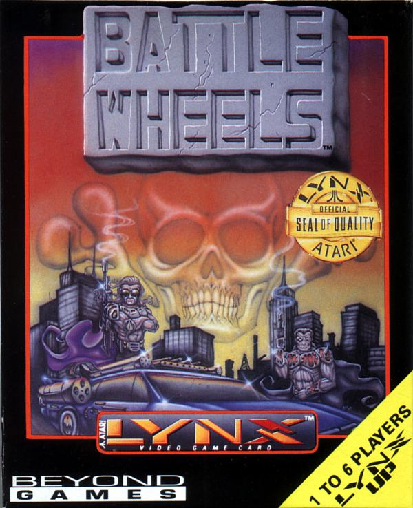 BattleWheels - Box Front