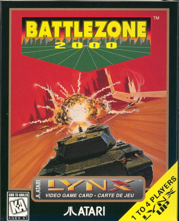 Battlezone 2000 - Box Front