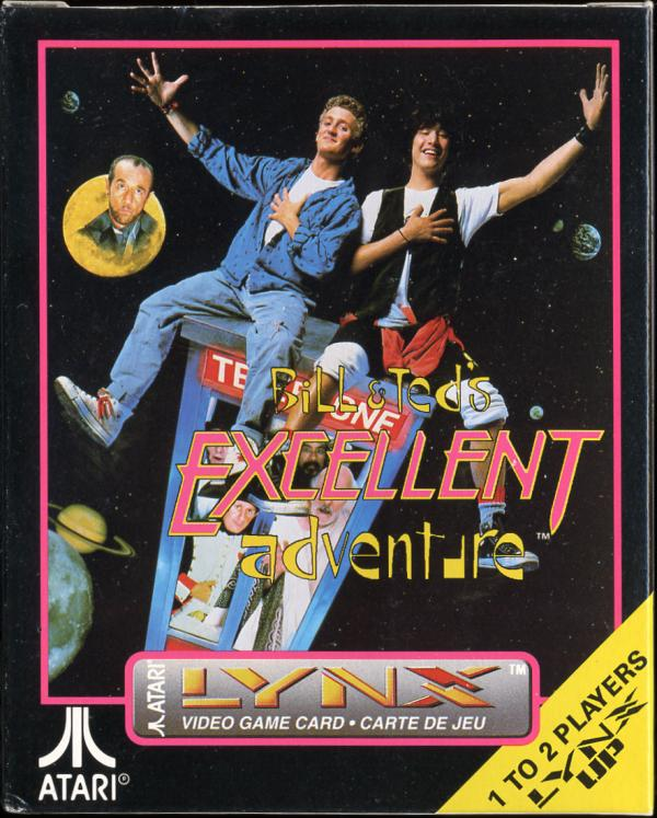 Bill & Ted's Excellent Adventure - Box Front