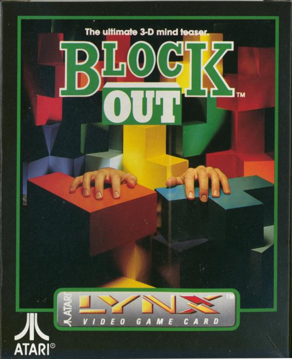 Block Out - Box Front