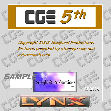 CGE 5th - Box Front