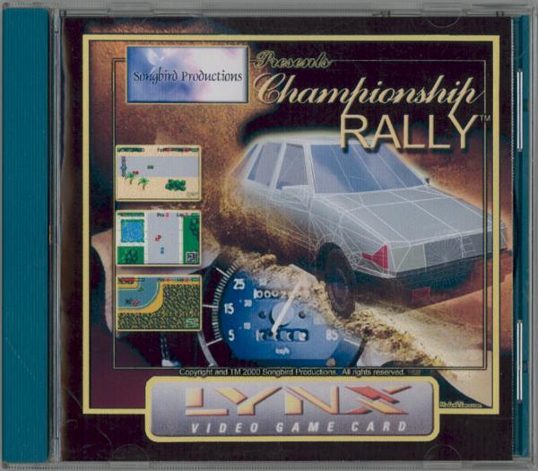 Championship Rally - Box Front