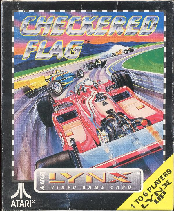 Checkered Flag - Box Front