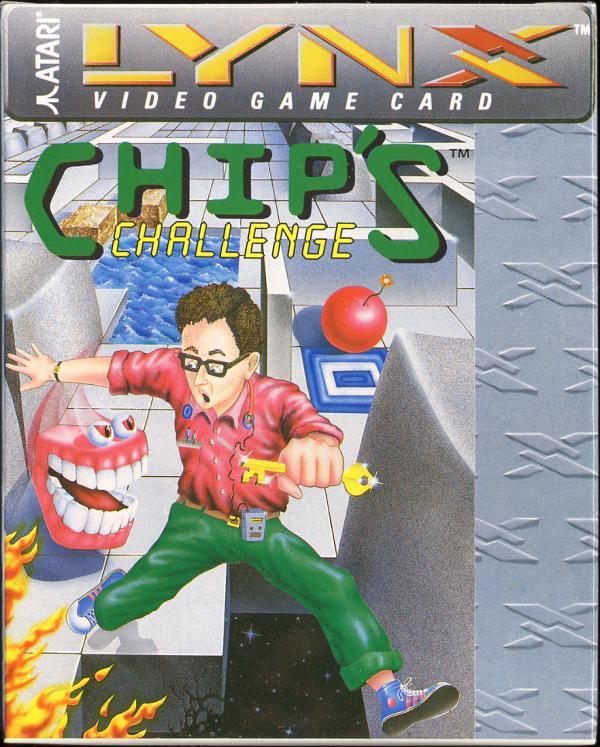 Chip's Challenge - Box Front